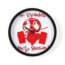 rEVOLution red Wall Clock