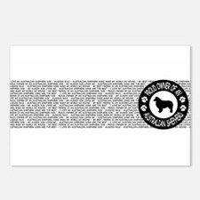 Australian Shepherd Postcards (Package of 8)