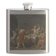 death of socrates shower Flask