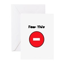 Cute Fear this Greeting Cards (Pk of 10)