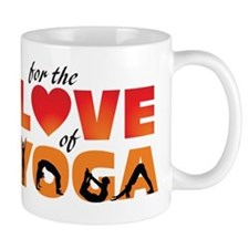 For The Love of Yoga Mug