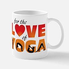 For The Love of Yoga Mug