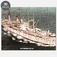 amphion large framed print Puzzle