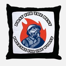 Preppers 2 Throw Pillow