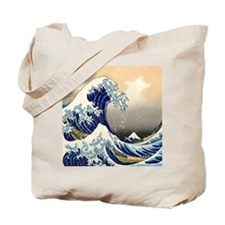 great wave shower Tote Bag