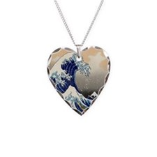 great wave shower Necklace