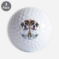 bulldog flip flops Golf Ball