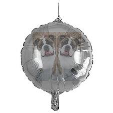 bulldog flip flops Balloon