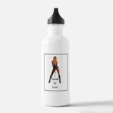 bondage bound by love  Water Bottle