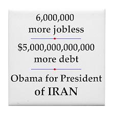 iranpresident Tile Coaster