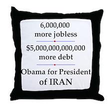 iranpresident Throw Pillow