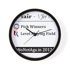 pickwinners Wall Clock