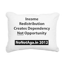 Dependency Rectangular Canvas Pillow