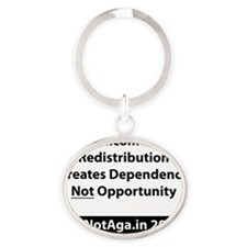 Dependency Oval Keychain