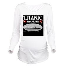 TG 19x244DuvetTwin Long Sleeve Maternity T-Shirt