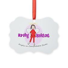 nursing assistant stick angels in Ornament