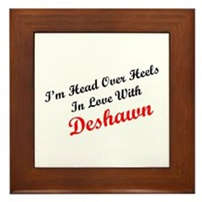 In Love with Deshawn Framed Tile