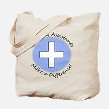 Nursing Assist MAKE A DIFF Tote Bag