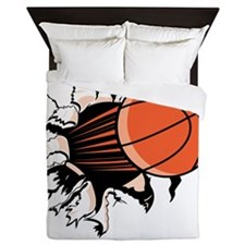 BasketballSC.gif Queen Duvet