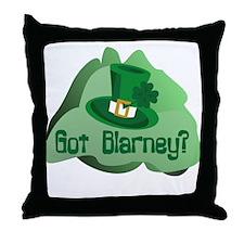 Got Blarney? Throw Pillow
