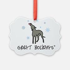 Greyt Holidays Ornament