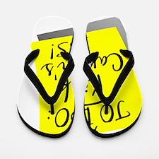 D To Do - Kick Cancers Ass Sarcoma Flip Flops