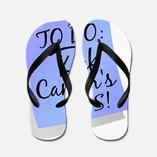 D To Do - Kick Cancers Ass Prostate Flip Flops