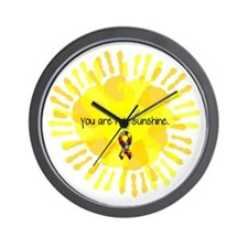 You are my Sunshine Wall Clock