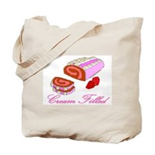 Cream Filled Tote Bag