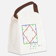 Pyth_Thm_BlackShirt Canvas Lunch Bag