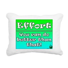 Effort New Rectangular Canvas Pillow