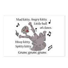 Mad Kitty Angry Kitty Postcards (Package of 8)