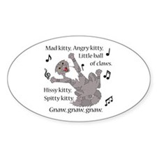 Mad Kitty Angry Kitty Decal
