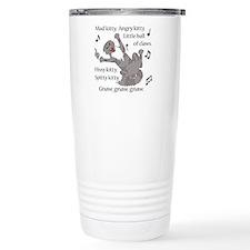 Mad Kitty Angry Kitty Travel Mug