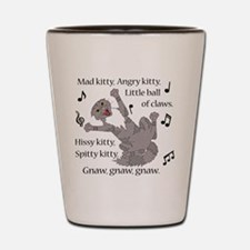 Mad Kitty Angry Kitty Shot Glass