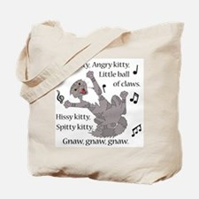 Mad Kitty Angry Kitty Tote Bag