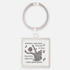 Mad Kitty Angry Kitty Keychains