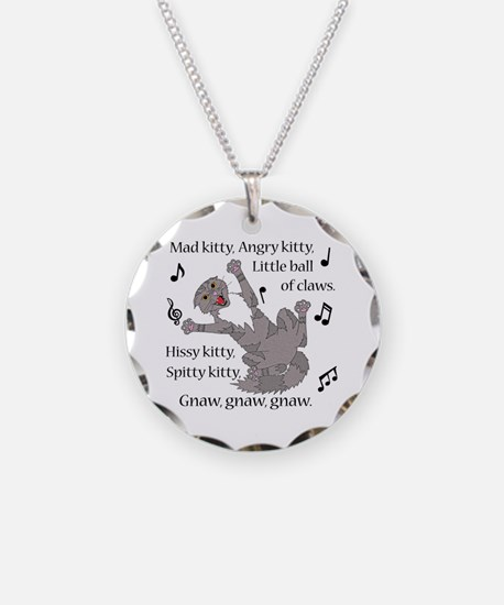 Mad Kitty Angry Kitty Necklace