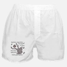 Mad Kitty Angry Kitty Boxer Shorts