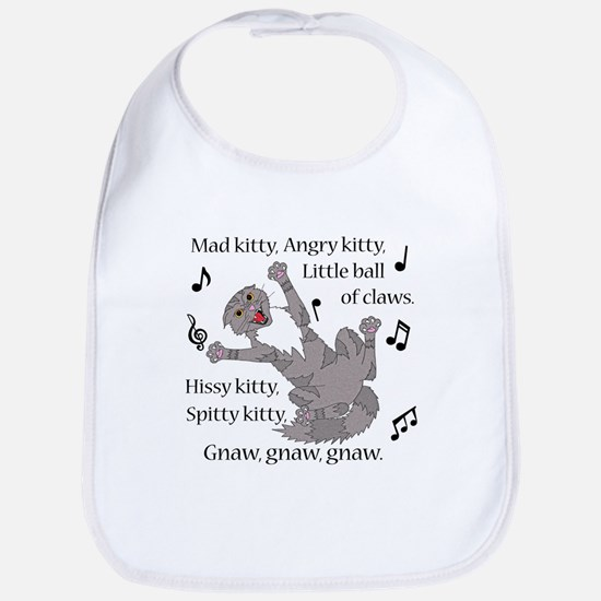 Mad Kitty Angry Kitty Bib