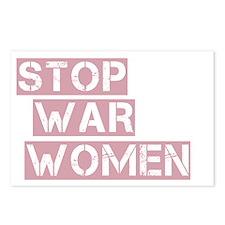 stop the war on women_dar Postcards (Package of 8)