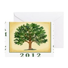 TreeReunion2012Shirt Greeting Card