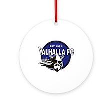 VALHALLAFC Round Ornament