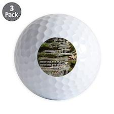 5 STEPS REIKI PRINCIPLES Golf Ball