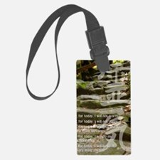 5 STEPS REIKI PRINCIPLES Luggage Tag