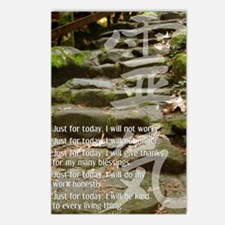 3 STEPS REIKI PRINCIPLES Postcards (Package of 8)