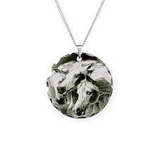 Pharaohs Horses 2014 Necklace Circle Charm