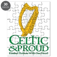 Celtic and Proud Eire Harp 2 Puzzle