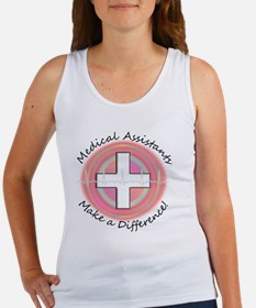 Medical Assistant making a diff P Women's Tank Top