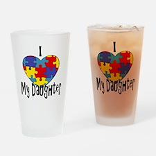 heart2 Drinking Glass